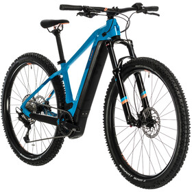 Cube Access Hybrid EXC 500 Femme, reef blue/apricot